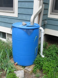 129 Klink House—Rain Barrel